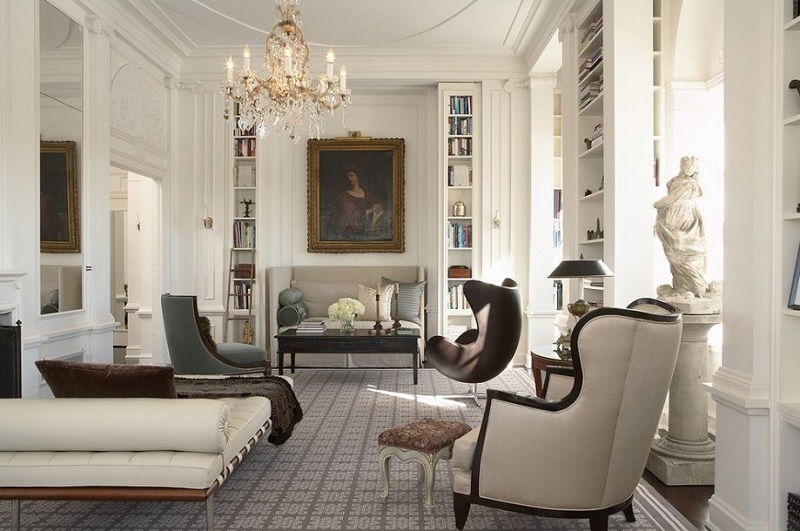 Modern Victorian home interior style look luxurious