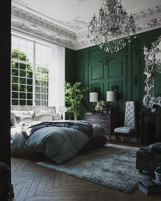 Modern Victorian bedroom style ideas