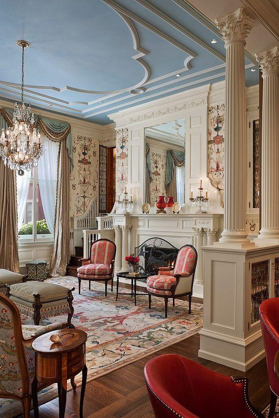 Modern Victorian home interior style