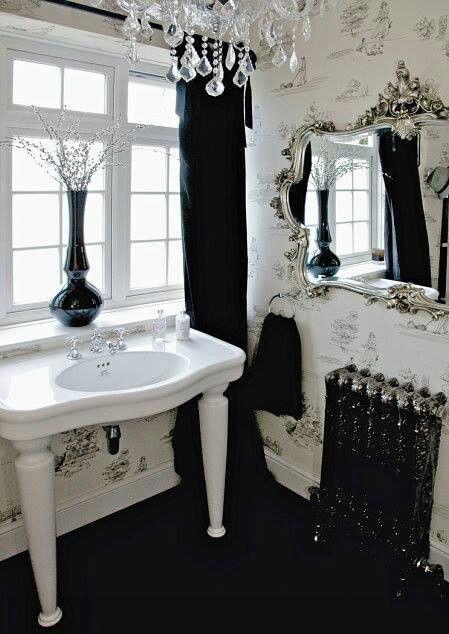 Modern gothic style interior design