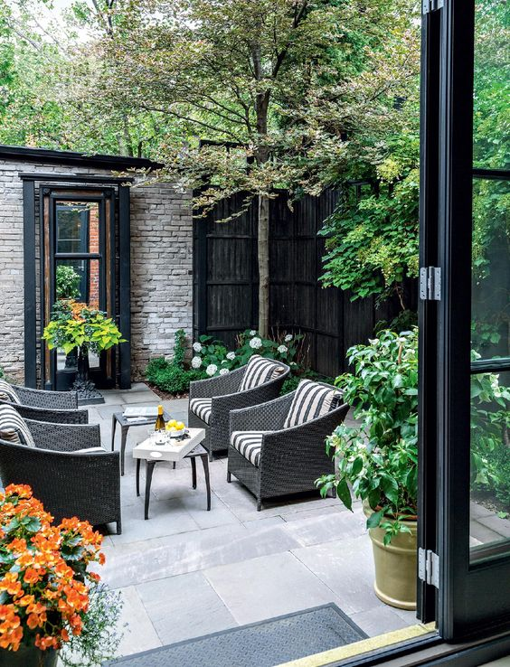 Modern Victorian terrace backyard ideas