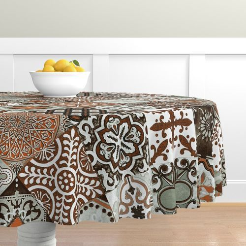 Talavera tablecloth