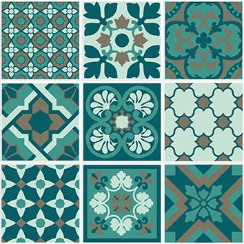 Same color but different pattern of Talavera