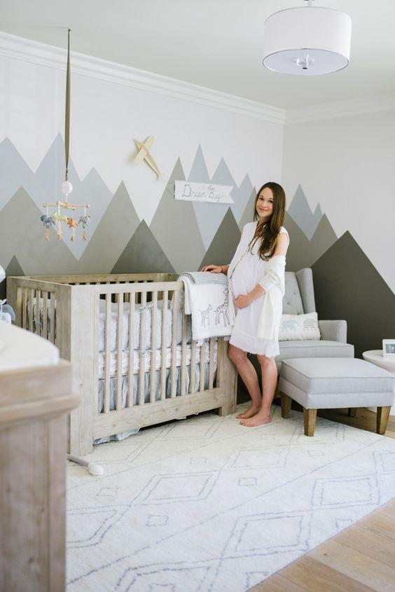 Newborn baby room decorating ideas for a baby boy