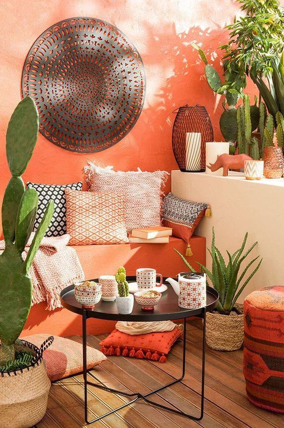 Cactus plants as decorations