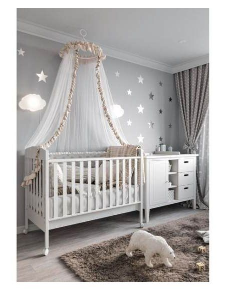 Newborn baby room decorating ideas with humidifier