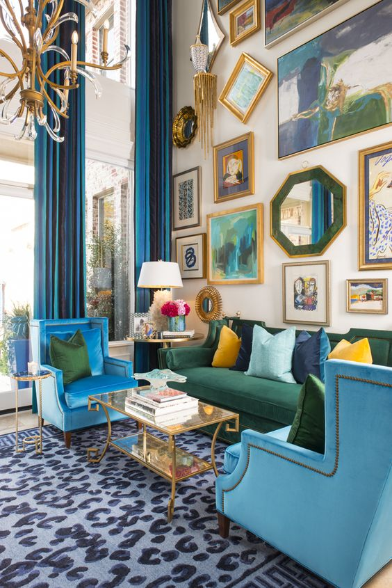 Eclectic-themed furniture ideas