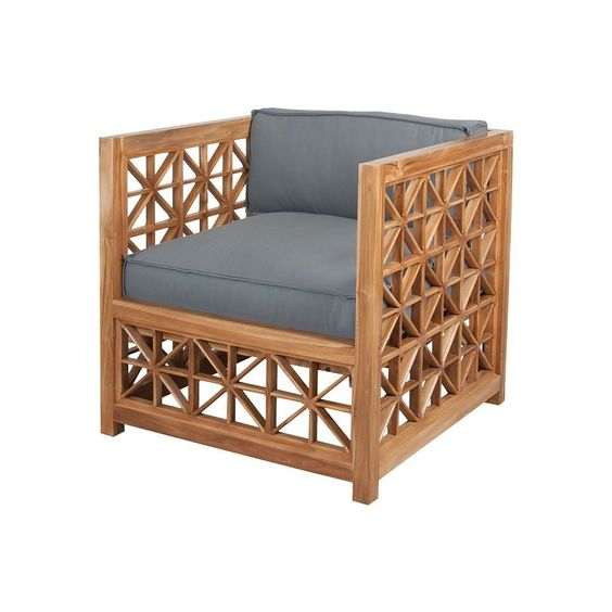 Eclectic finishing outdoor furniture