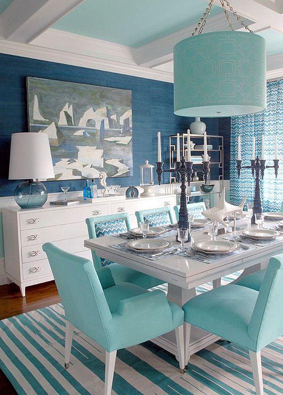 Modern coastal nautical dining room ideas with tips