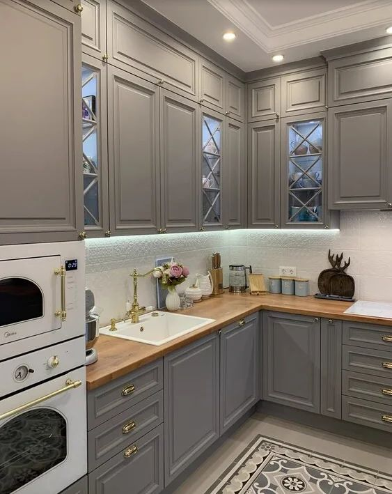 Modern gothic kitchen cabinet recommendations