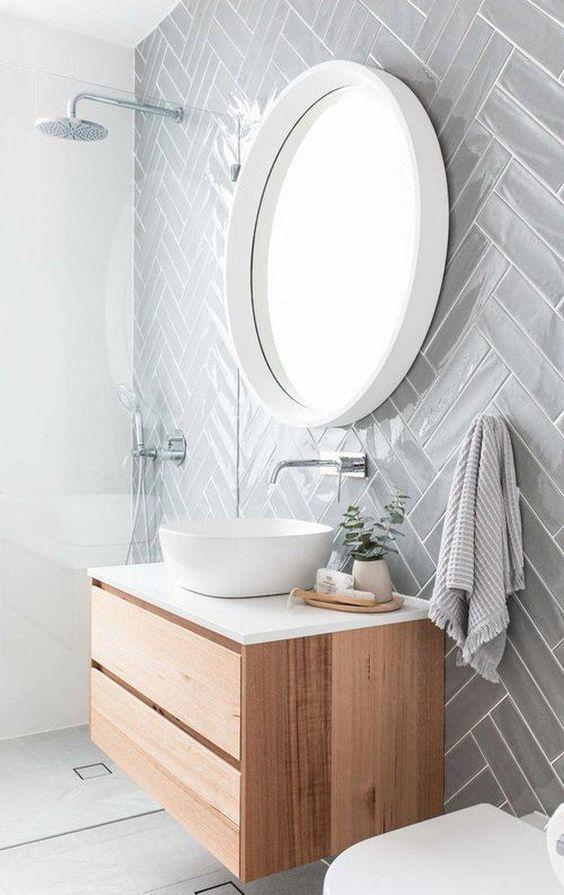 Modern authentic Victorian bathroom design