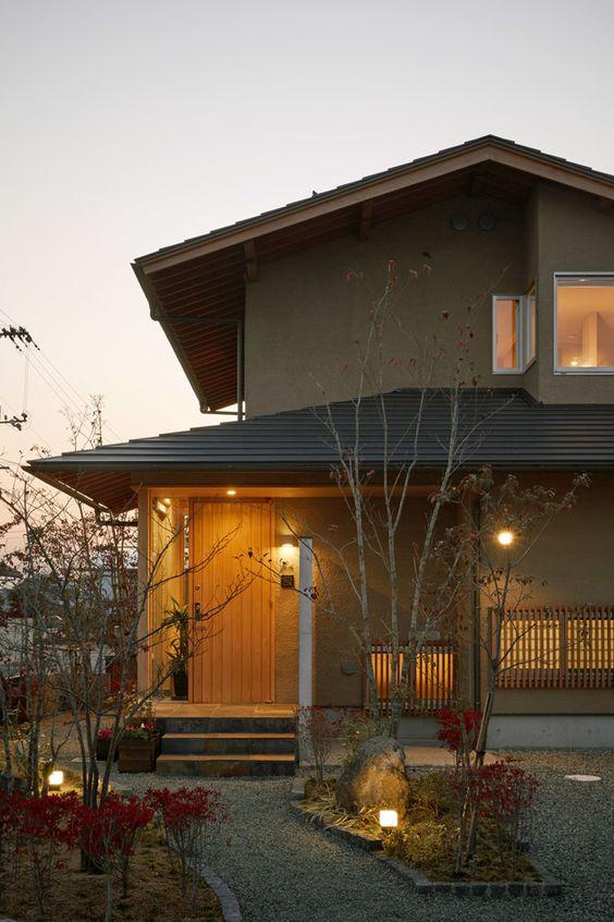 Japanese house exterior design