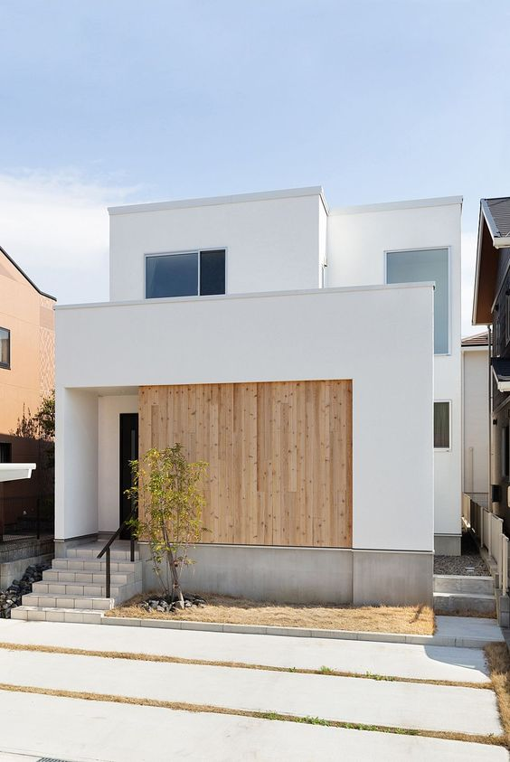 Japanese home exterior style