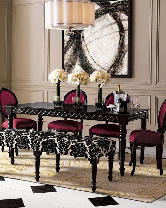 Gothic dining room decorating ideas