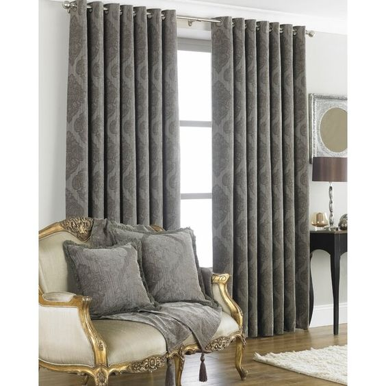 Modern gothic curtains style recommendation
