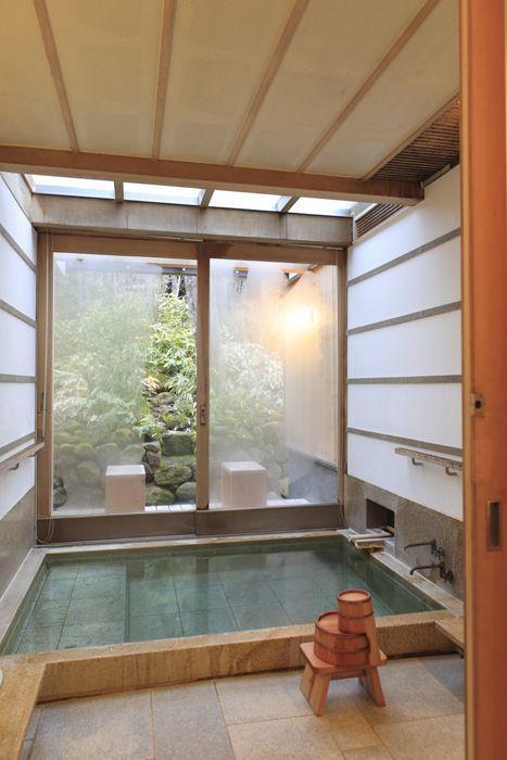 Beautiful tiny Japanese bathroom decorating ideas