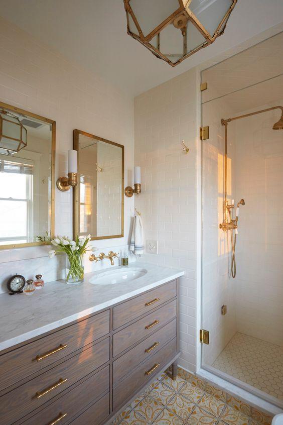 Modern authentic Victorian bathroom ideas