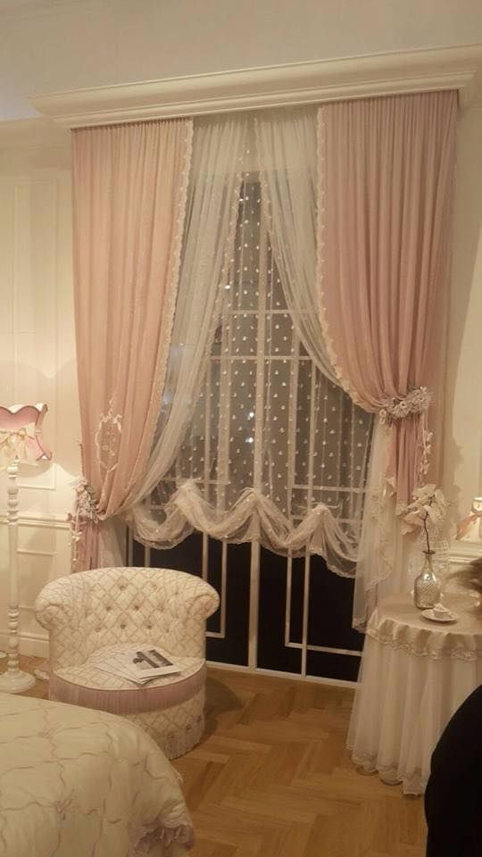 Shabby chic curtains for our home