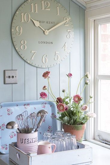 Shabby chic large clocks recommendations