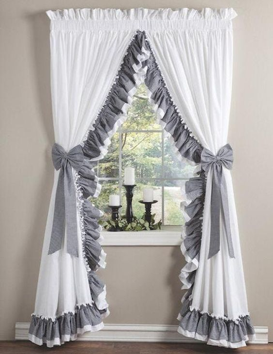 Shabby chic curtains recommendations in our home