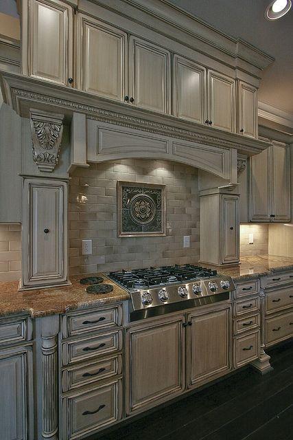 Modern gothic kitchen cabinet