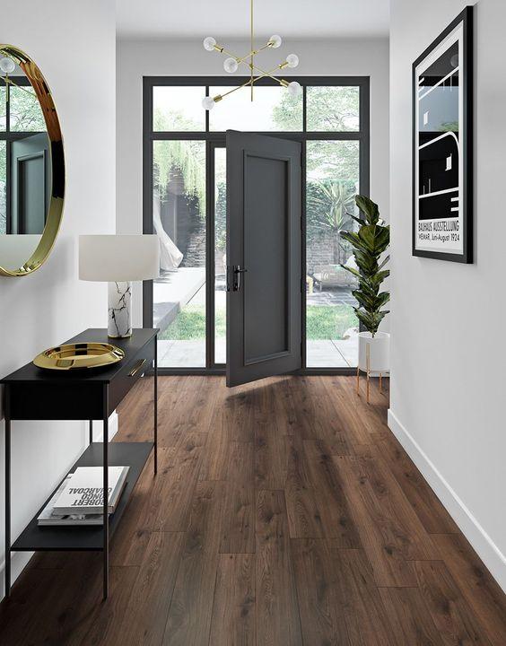 Shabby chic laminate flooring