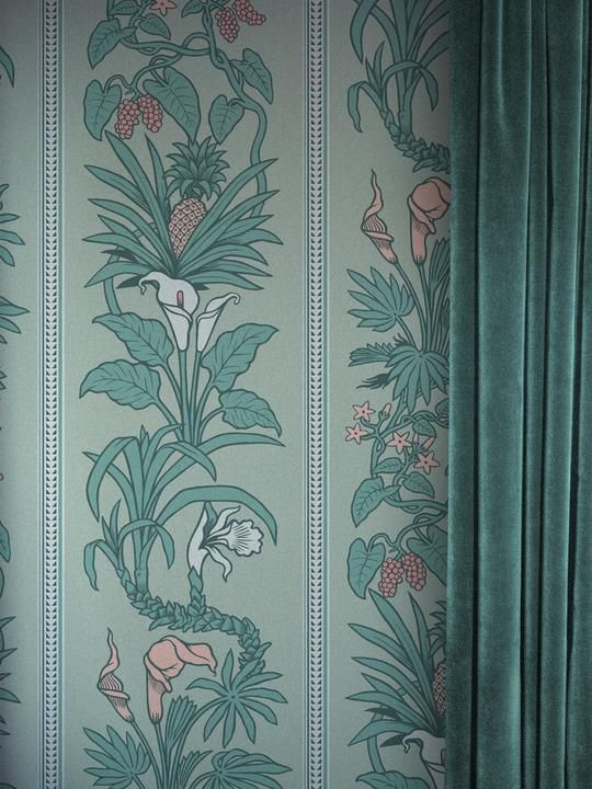 Green color modern gothic wallpaper recommendations