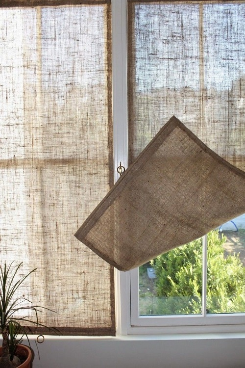 Shabby chic DIY curtains recommendations