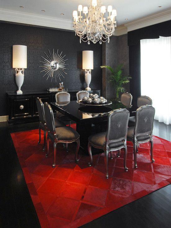 Gothic dining room interior design ideas