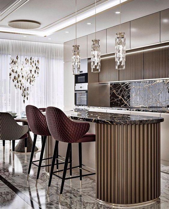 Contemporary modern gothic interior design ideas