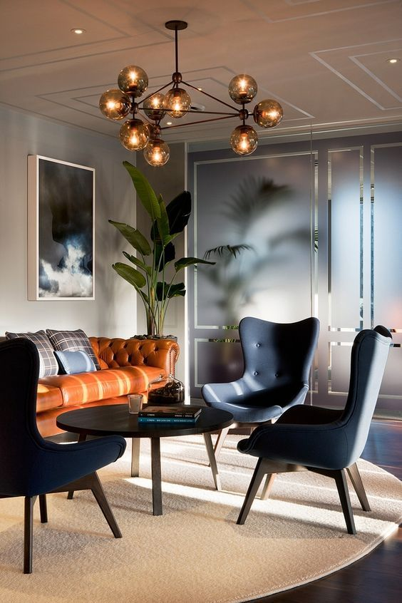 Contemporary modern gothic interior design furniture