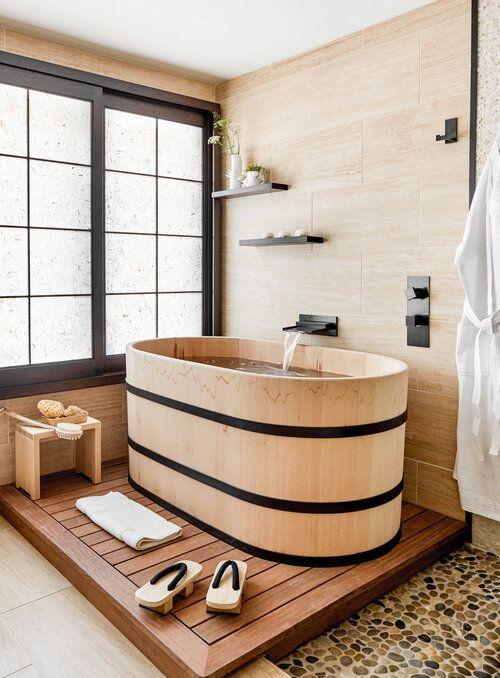 Tiny Japanese bathroom decorating ideas