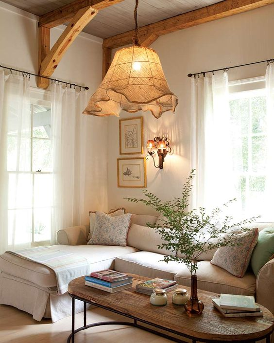 Shabby chic pendant lights in many design and colors