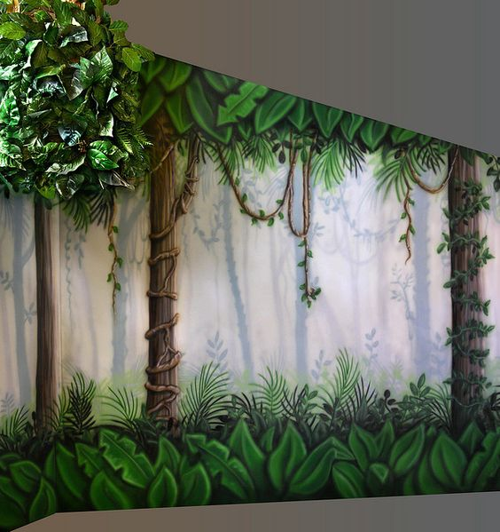 Enchanted fairy forest interior design
