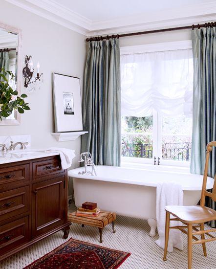 Modern Victorian grey curtains