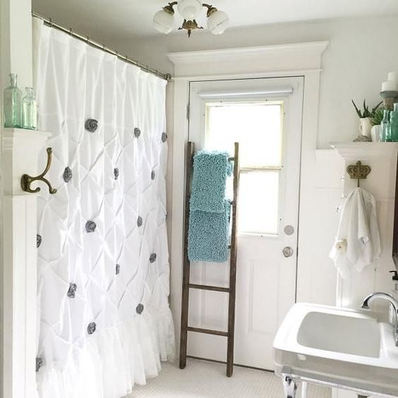 Modern Victorian lacey shower curtains recommendations