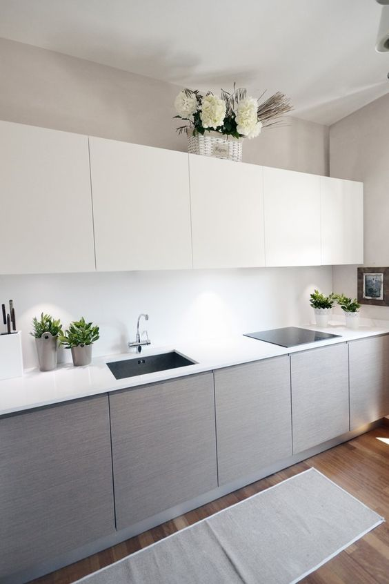 Light grey kitchen cabinets recommendations