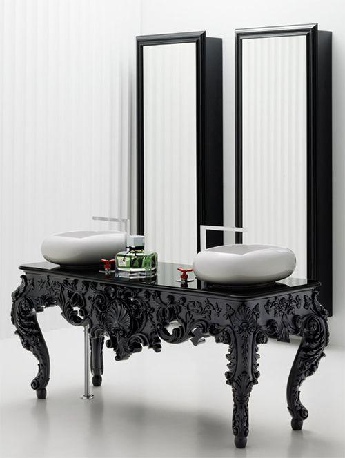 Modern gothic rectangular bathroom mirror recommendations