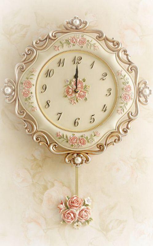 Shabby chic clocks recommendations