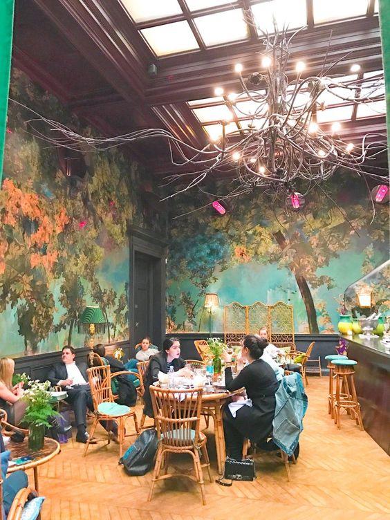 Aesthetic fairy forest interior design ideas