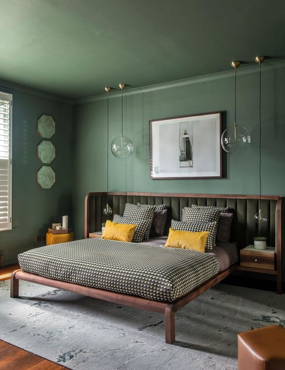Modern Scandinavian interior design combination