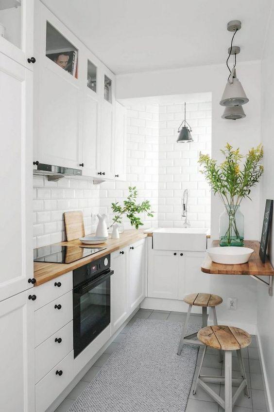 Scandinavian white concept kitchen decorating ideas