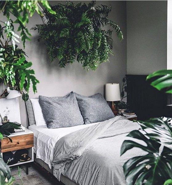 Fresh concept tropical bedroom