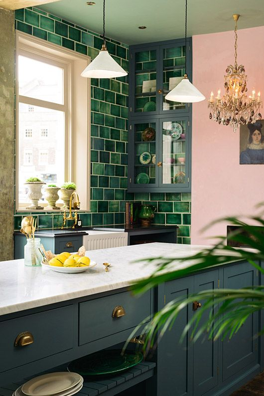 Simple tropical kitchen