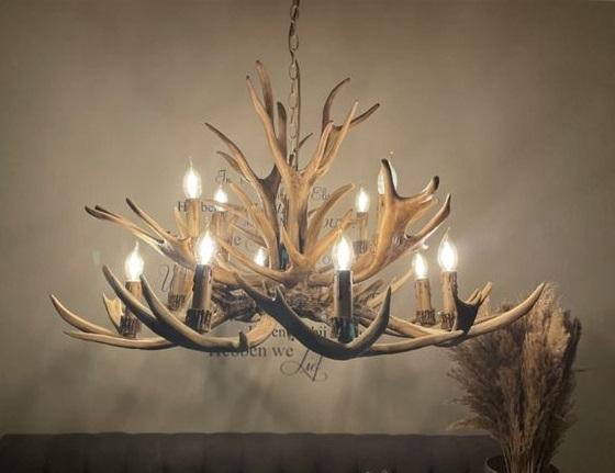 Twigs shape chandelier