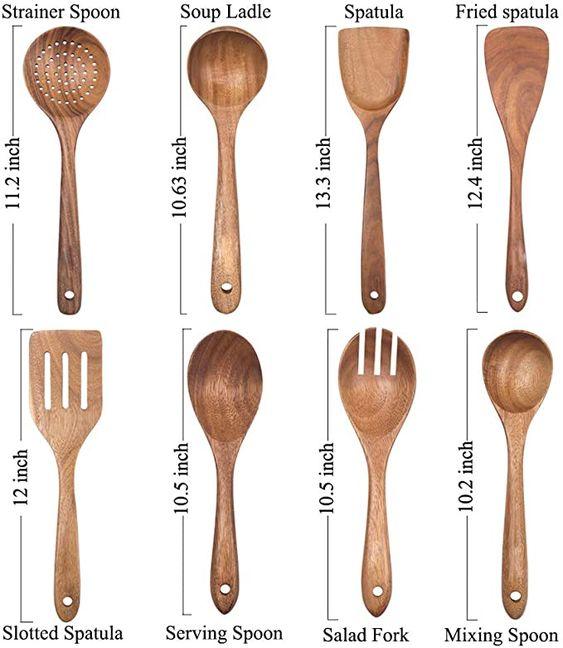 Scandinavian wooden kitchen utensils recommendations