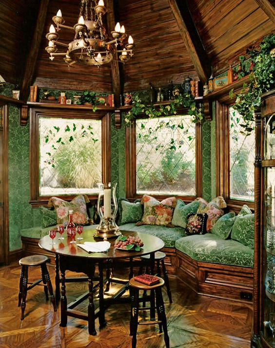 Aesthetic fairy forest interior design combination