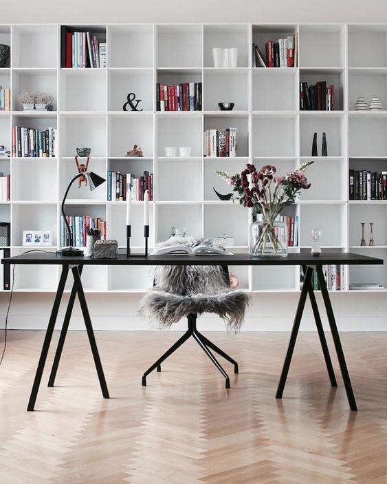 Stunning Scandinavian home office