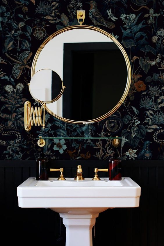 Fairy forest bathroom mirror recommendation