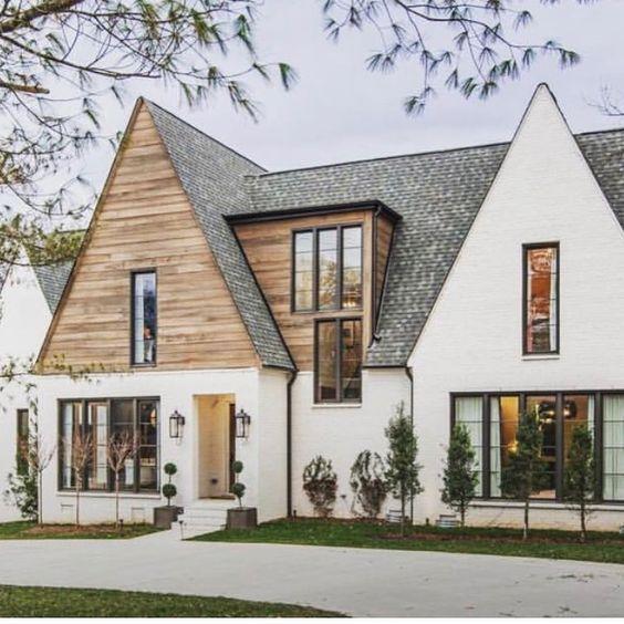 Scandinavian home exterior design